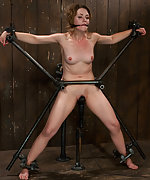 Girl next door trapped, bound, made to cum
