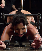 Very strict predicament bondage, pain and pleasure
