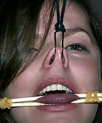 Bobbi Starr in an emotionally draining BDSM live show