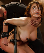 Chained, whipped, pegged, helplessly dildoed