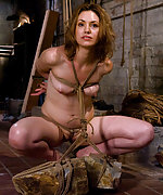 Cute slavegirl gets roped and trained