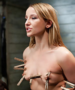 Roped, pegged, punished, caned and fucked