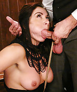 Helpless wife is bound, gagged and fucked hard in her ass
