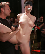 Roped, pegged, humiliated, fucked in public