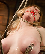 Tightly roped, suspended, pegged and vibed